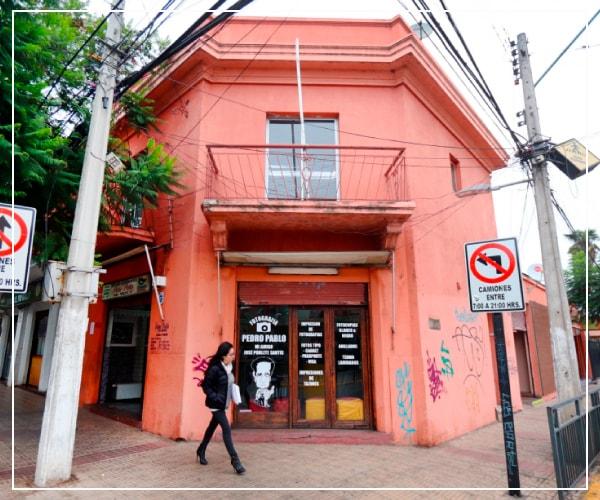 fachada del estudio fotográfico pedro pablo