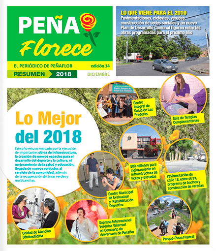 periódico Peñaflorece Diciembre 2018