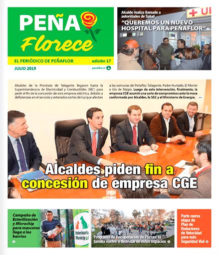 periódico Peñaflorece Julio 2019
