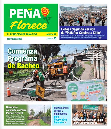 periódico Peñaflorece Octubre 2018