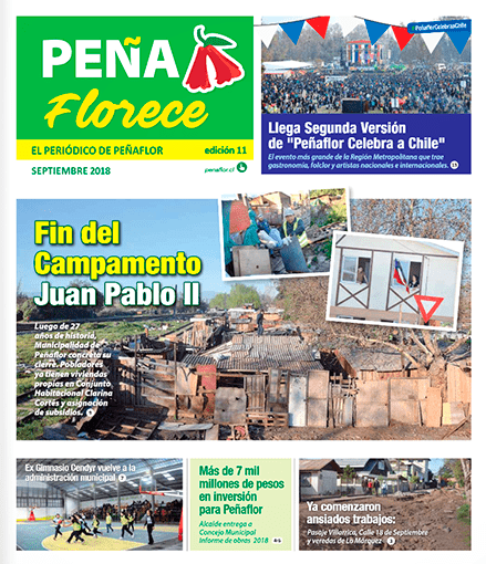 periódico Peñaflorece Septiembre 2018