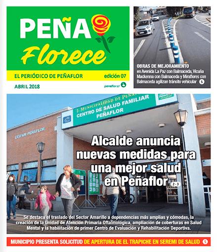 periódico Peñaflorece abril 2018