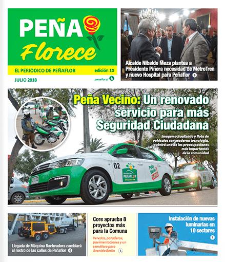 periódico Peñaflorece julio 2018