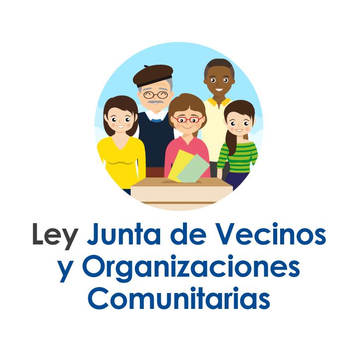 Ley junta de vecinos y organizaciones comunitarias