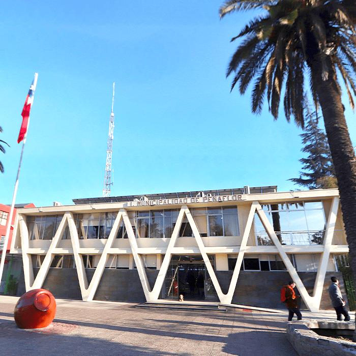 fachada muni peñaflor