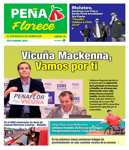 Periódico Peñaflorece septiembre 2019