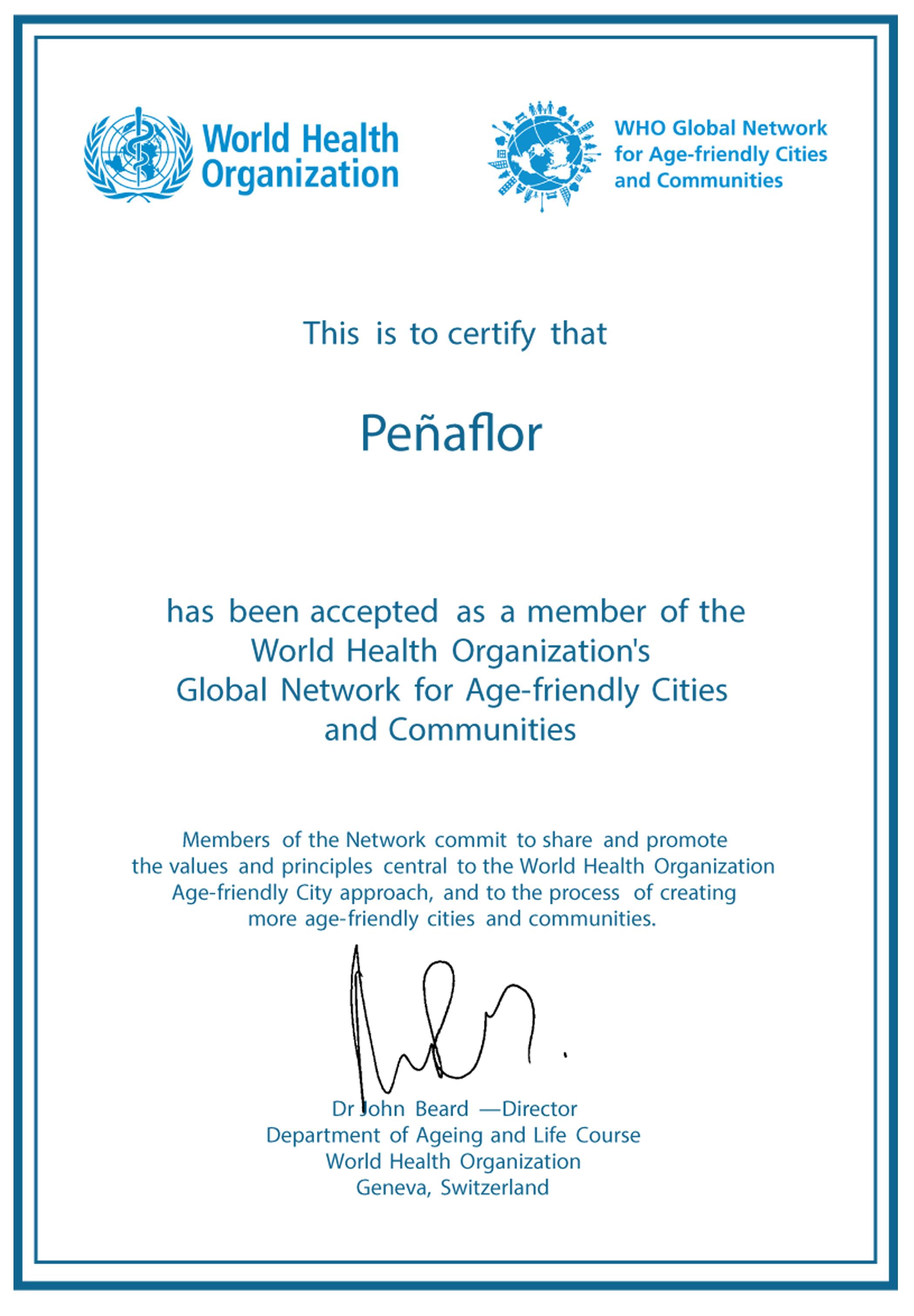 Organización Mundial de la Salud – OMS